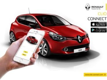 Renault'un teknolojik serisi Clio Connect
