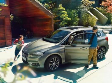 BMW 2 Serisi Active Tourer ile tatil keyfi