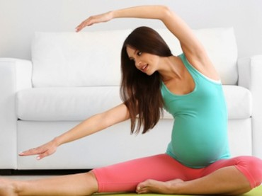 Kolay doğum için egzersiz yapın!