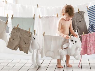 Bebek cildi ve çamaşırlarına dost