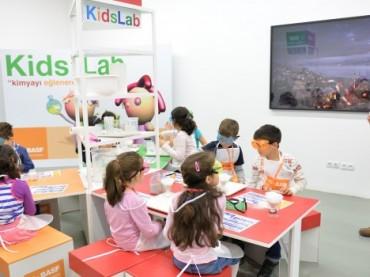 BASF, çocukları deneylerle buluşturacak!