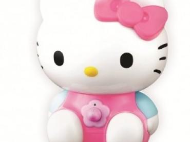 Hello Kitty hoparlörle müzik keyfi