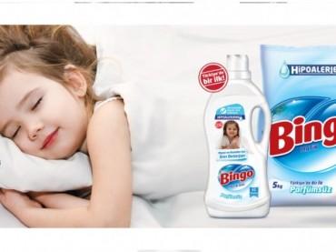 Bingo'dan alerjik bünyelere özel deterjan