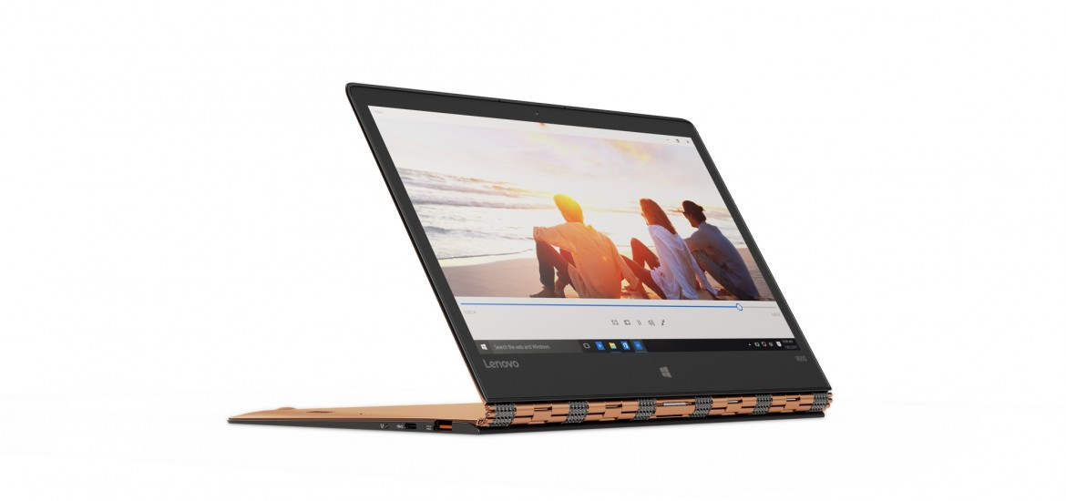 Lenovo_YOGA_900S_in_Gold_Watching_a_Video_in_Stand_Mode