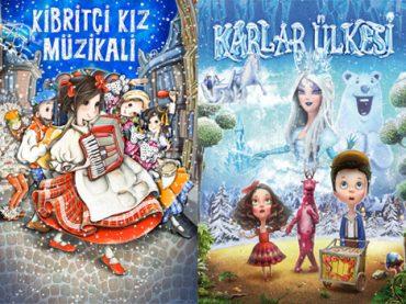 Kibritçi Kız Müzikali ve Karlar Ülkesi çocuklara ücretsiz