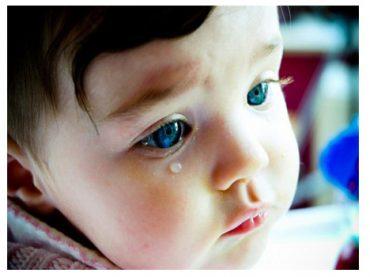 Çocuklar için ağlamak faydalı desek