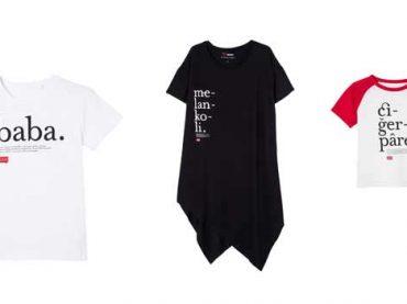 Lûgat365'in güzel kelimeleri şimdi Koton'un tişörtlerinde