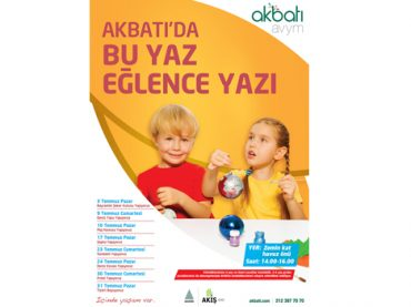 Akbatı AVYM'den eğlence dolu tatil programı