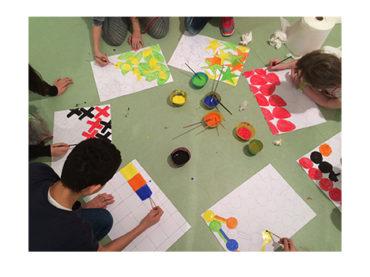 Çocuklara Yumurtalı Renkler Atölyesi