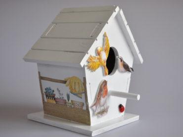 Kuş evi yapmaya ne dersiniz?