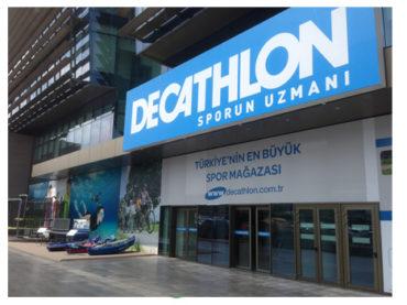 Şehrin merkezi Decathlon ile sporla buluştu