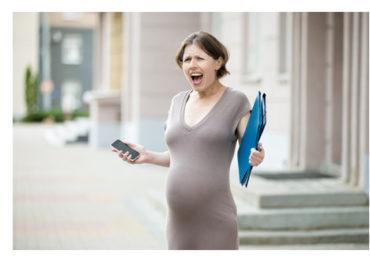 Stres bebeğinize alkol kadar zararlı!