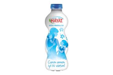 Hayat Su'dan Anneler Günü'ne özel şişe