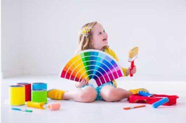 Çocukla çocuk olabilen boya