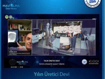 Yılın Üretici Devi Ödülü Toyota'nın