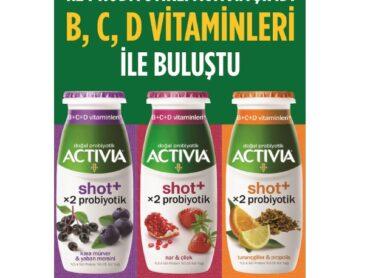 Activia Shot+ bağışıklığınızı lezzetle güçlendiriyor