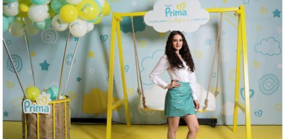 Prima'nın yeni marka ve iyilik elçisi Fahriye Evcen